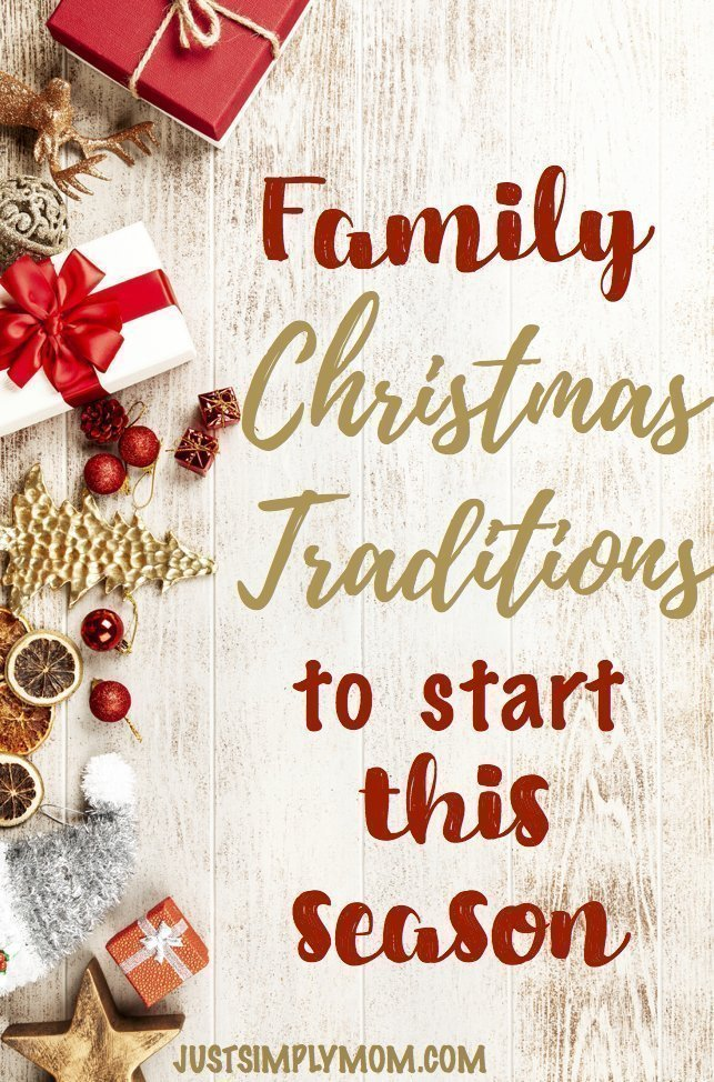 Christmas Traditions to Start as a Family