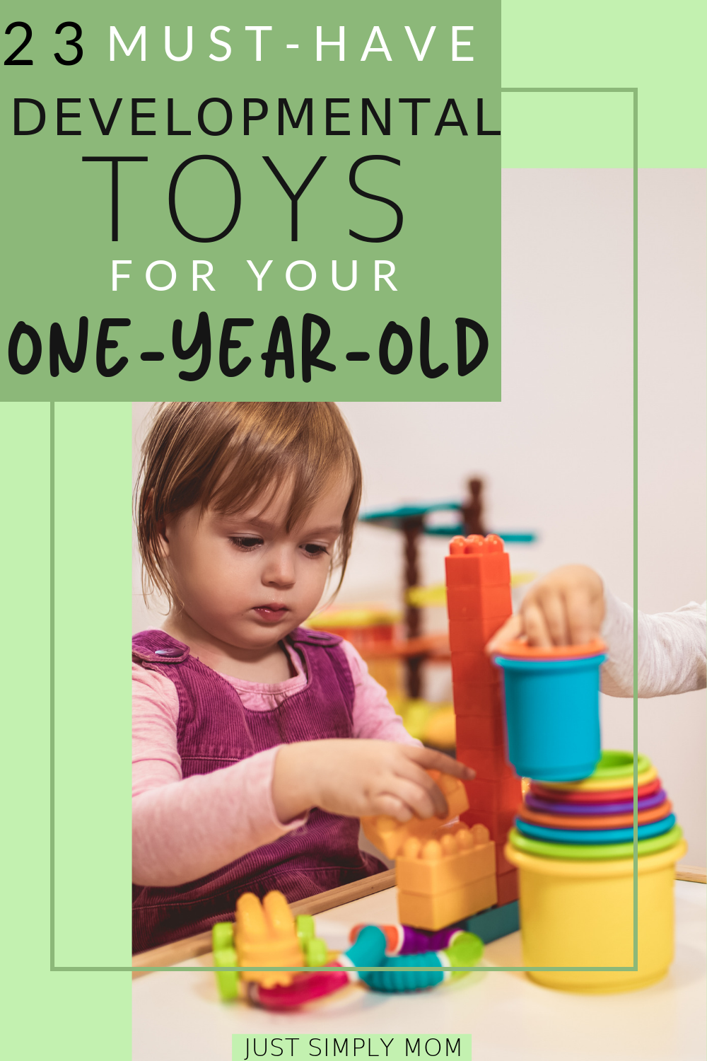 Best Developmental Toys for 1 Year Olds