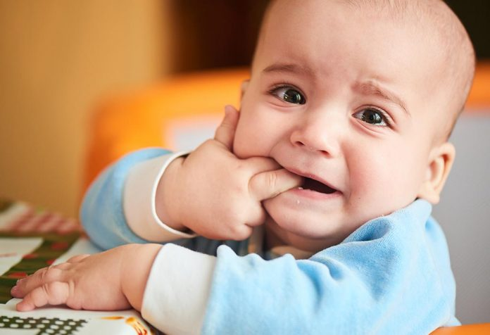 Teething can be a tough stage for a baby. They are in pain but don't know how to express themselves or communicate why they are hurting. Here is how you can identify if your baby or toddler is teething and the best strategies to help give them some relief including toys and pain relief.