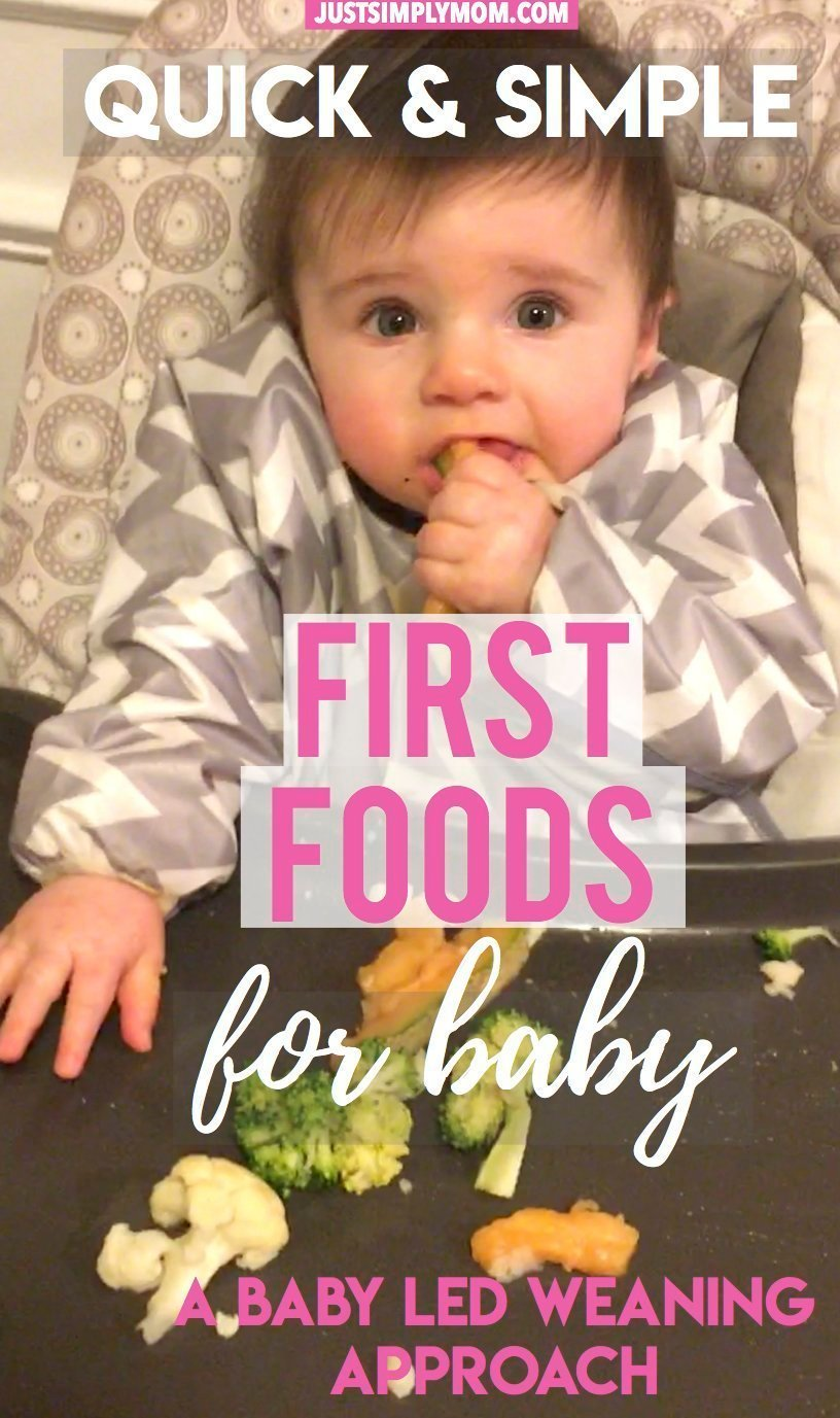 Quick & Simple First Foods For Your Baby