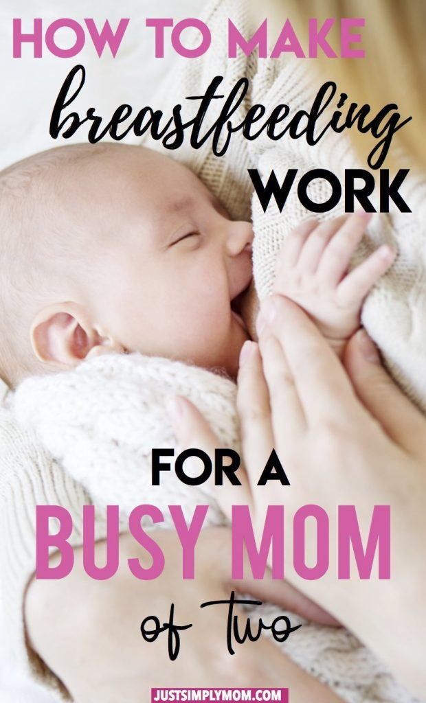 Breastfeeding your newborn can be challenging, especially as a busy mom with other children. Follow these tips to make life a little easier while nursing your baby and dealing with the chaos.