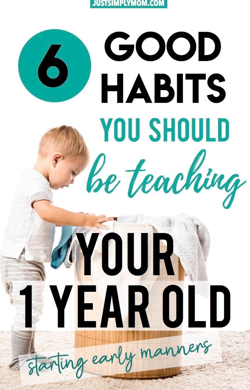 6 Good Habits You Should Be Teaching Your Toddler Early On