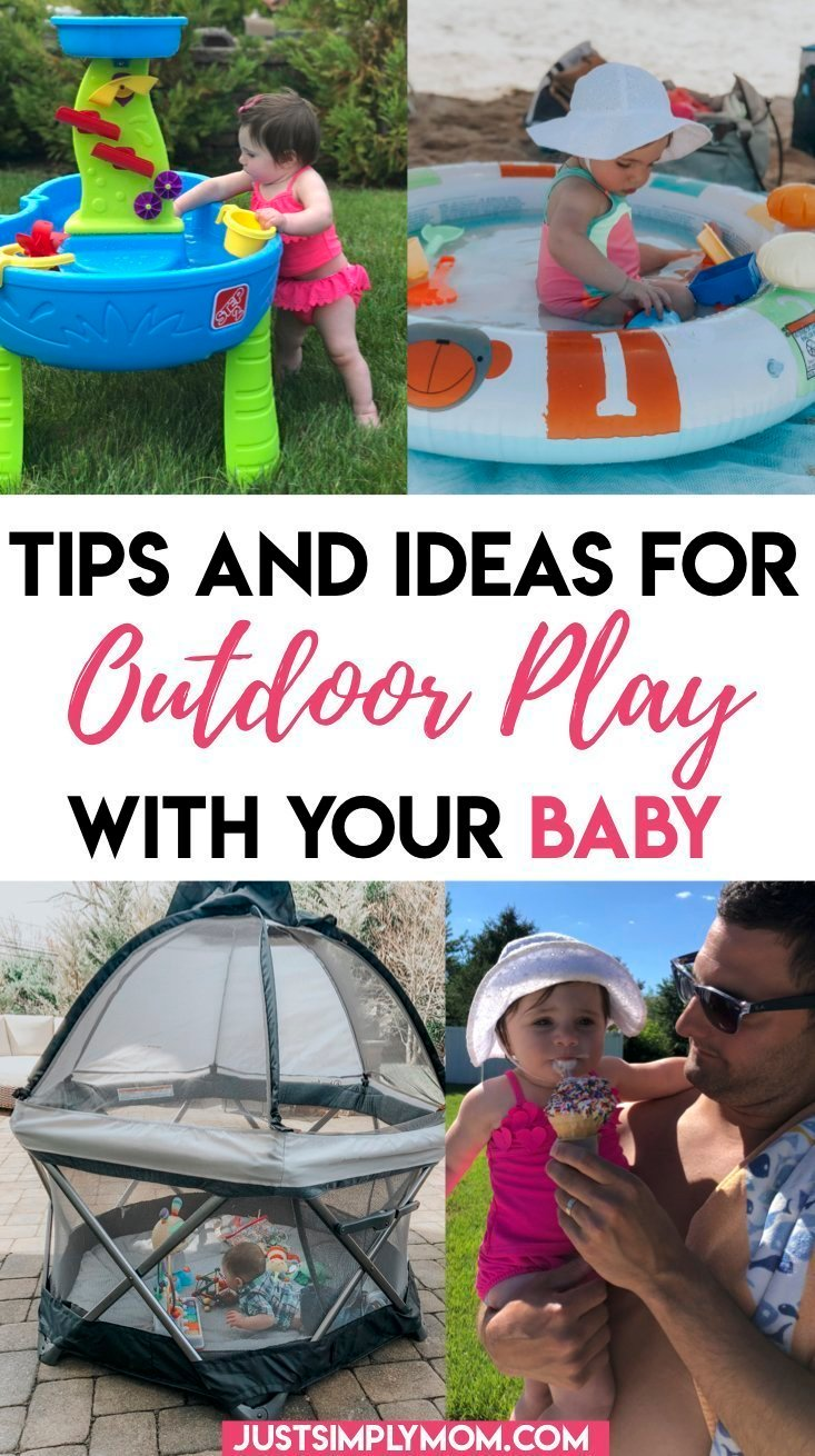 11 Tips and Ideas for Being Outside with a Baby