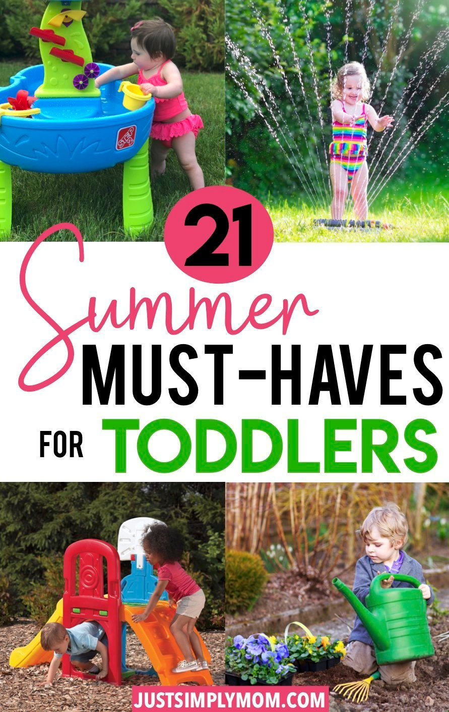 23 Summer Must-Haves for Your Toddler