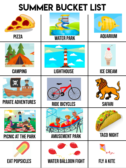 Create a DIY toddler summer bucket list to keep your child occupied with family fun this summer. Here are a list of exciting outdoor activities they will love. Have them experience new things and learn new things with these outside activities.