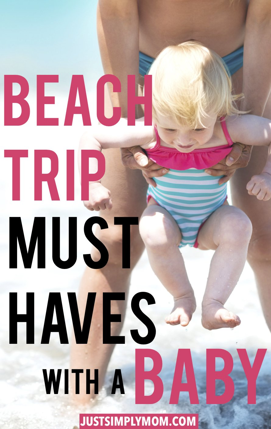 How To Survive a Beach Day with a Baby