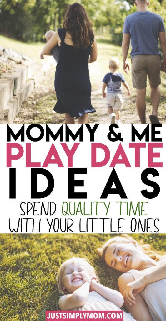 Ideas of ways to have fun, creative dates with your kids. Whether you have a baby, toddler or older child, you can spend quality time together making memories.