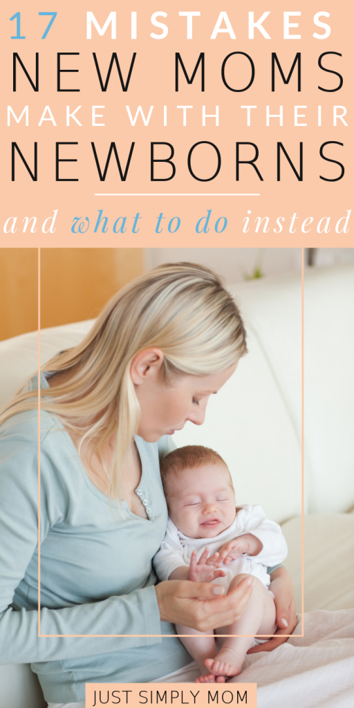 Don't make these common mistakes as a new mom when caring for your newborn. Learn the tips for raising your baby safely and healthy.