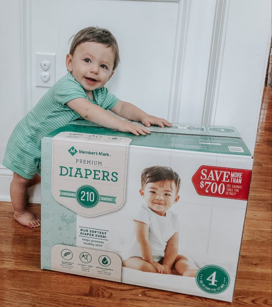 Don't break the bank when you're paying for diapers during those first few years of your child's life. Follow these tips and save with Member's Mark Premium Diapers at Sam's Club.