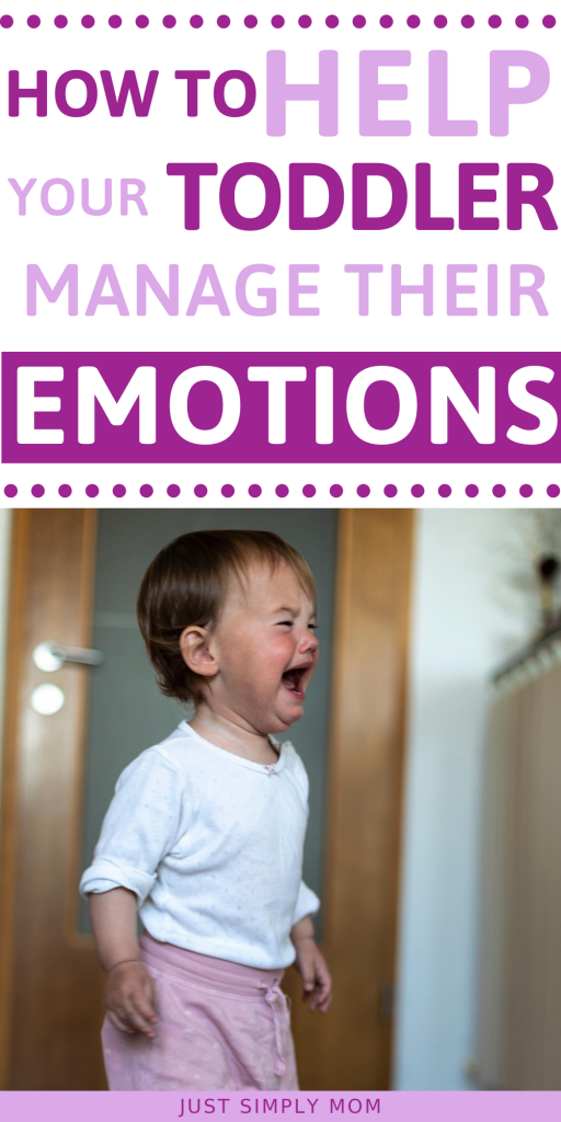 Learn how to manage your toddler's emotions when they start to get out of control. Teach them how to recognize feelings, where to go & what to do when sad