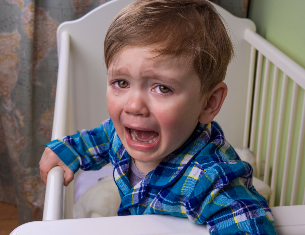 crying toddler, two year old sleep regression