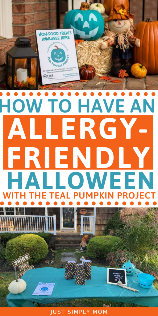 Have an allergy-friendly Halloween for your child by using these allergen free treats. Also, teal pumpkin project ideas to bring awareness.