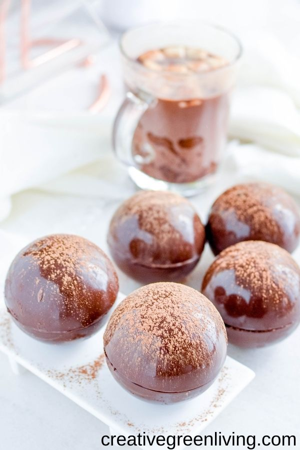 Try a delicious & irresistible hot cocoa bomb to keep you warm this winter. Hot chocolate made with marshmallows & any toppings you choose! You can add caramel, peppermints, sprinkles, unicorns, liquor, or gingerbread. Find some boozy hot chocolate bomb options too with Bailey's, vodka, rum, whiskey, or peppermint schnapps. There are some specialty combs for Keto, gluten free, allergy free, or vegan as well. Delicious and beautiful for adults and kids with milk chocolate, white choloate, or dark chocolate, and any decorations you wish!