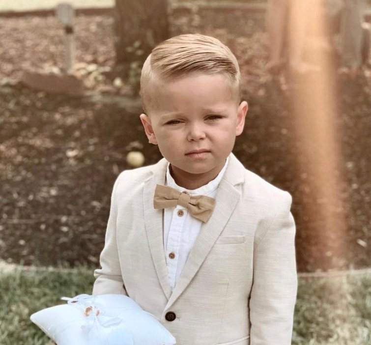 Fine some adorable toddler boy haircuts for your 1, 2, or 3 year old son and give him a handsome, new look this season by trying out new hairstyles. Also find tips on cutting your toddler boy's hair at home on your own and styling it with gel to keep it tame.