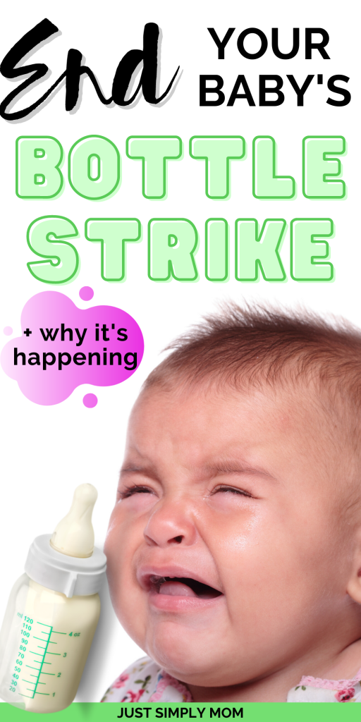 Babies can go on a bottle strike at any time when they don't want to drink. It is often frustrating for parents but here are ways to stop it fast.