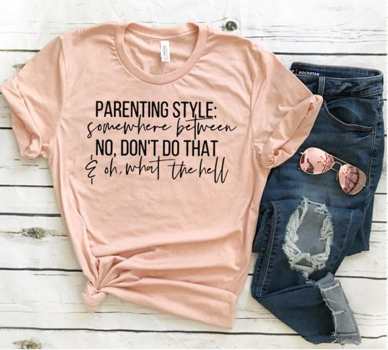 Check out these funny mom shirts to show off mom life in style. These trendy and hillarious shirts about motherhood will surely get some laughs.