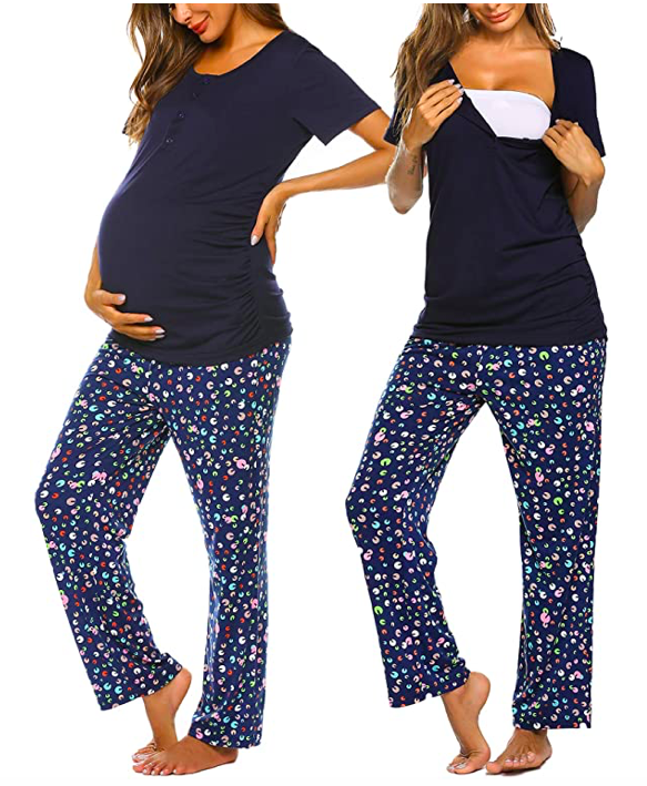 Here is what to wear after giving birth that you can pack in your hospital bag to make your stay as comfortable as possible:
