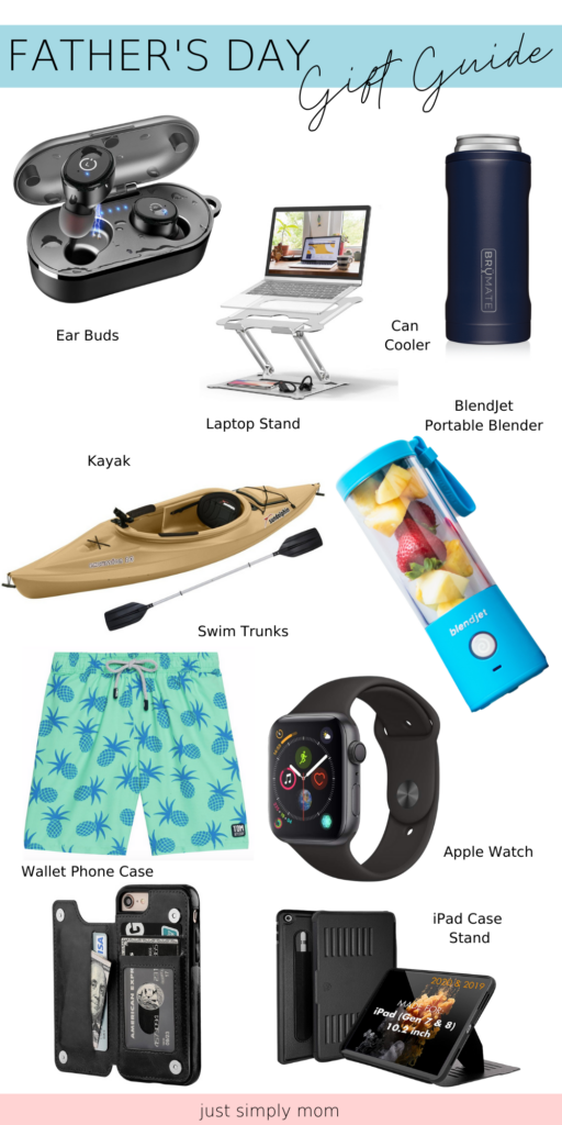 A gift guide for the dad's to celebrate birthdays, anniversaries, Father's Day, or any holiday to treat them to something unique & special