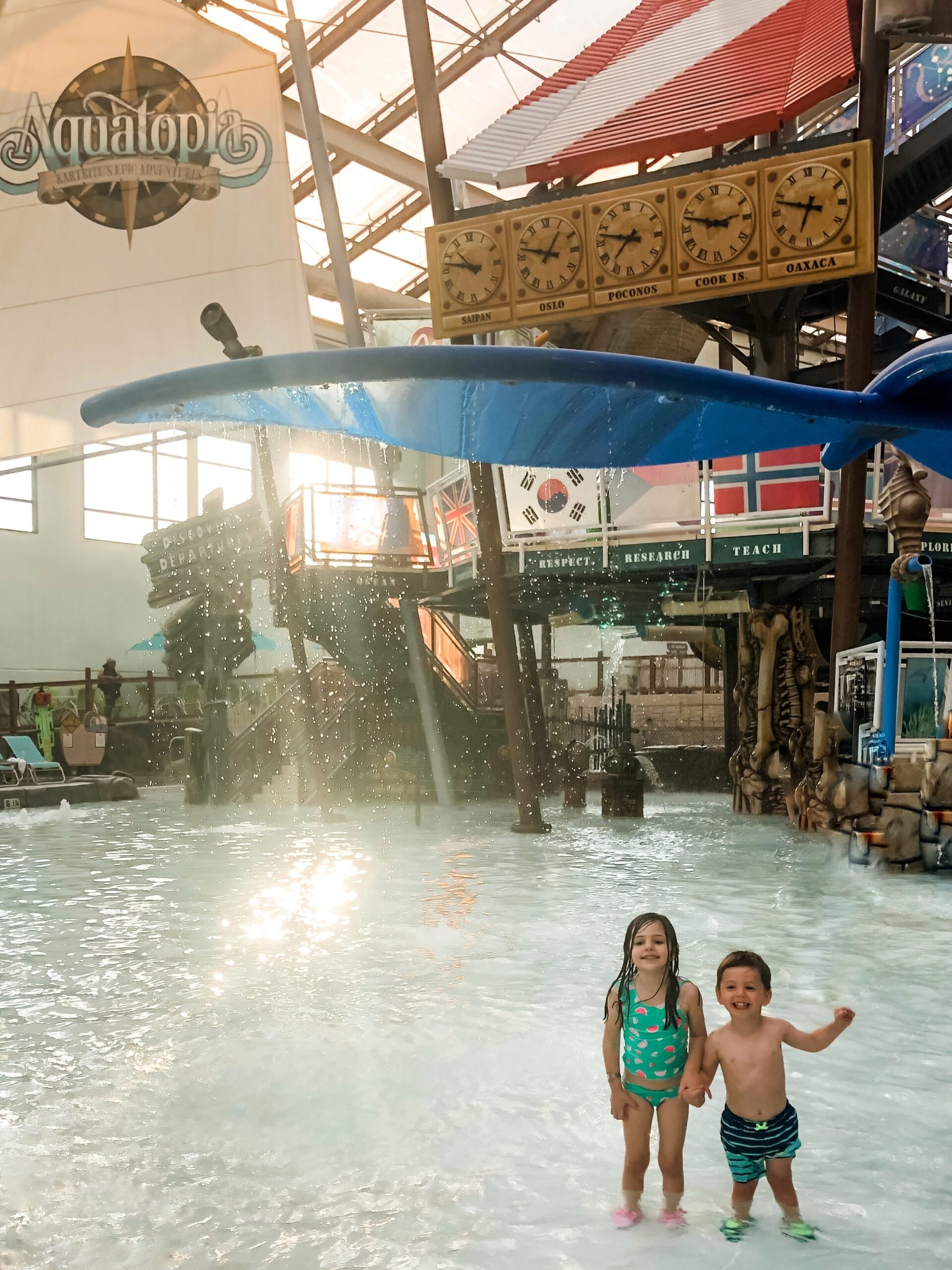 Camelback resort indoor waterpark made the perfect family-friendly destination for our young family. Toddlers and Preschoolers enjoyed it just as much as the adults!