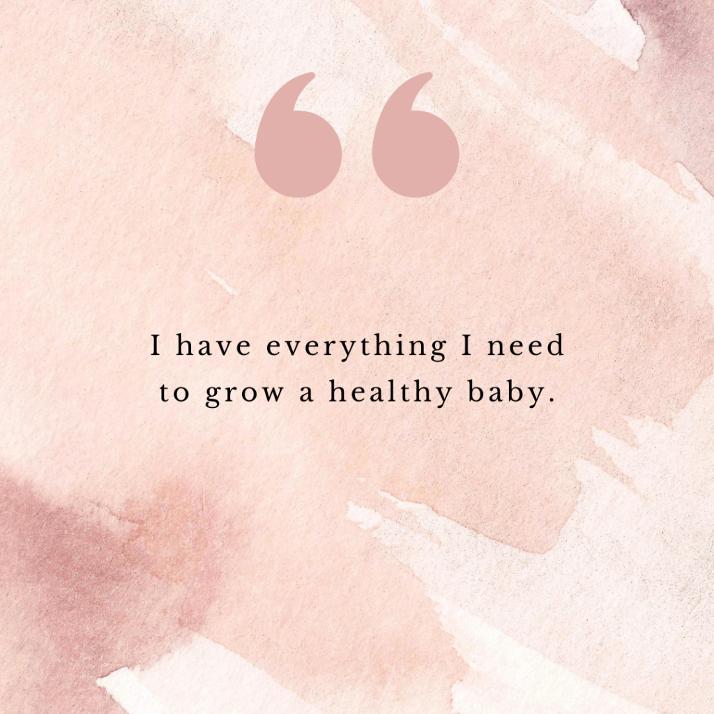 You can think about fertility affirmations anytime when trying to get pregnant. These positive affirmations may set up your body & mind when trying to conceive
