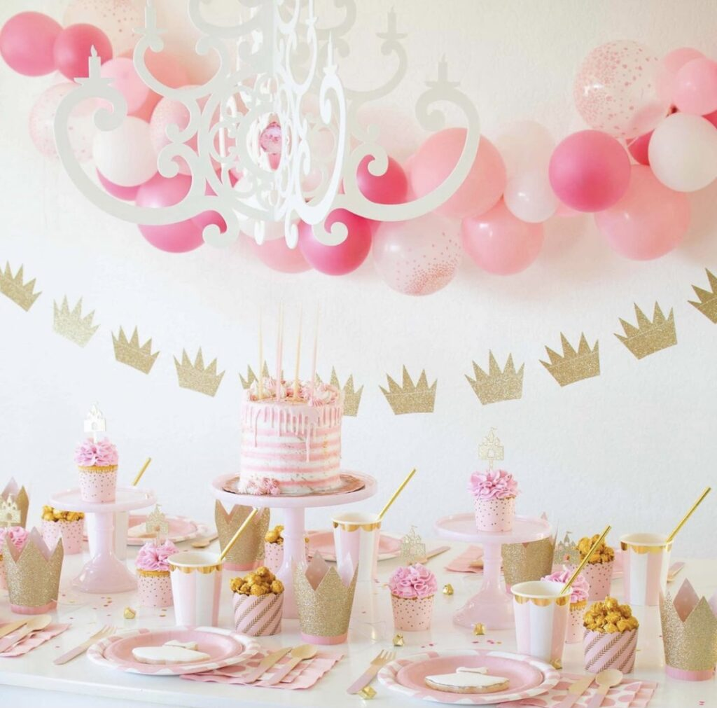 Trying to plan the perfect princess party for your little girl? Here are some ideas for activities, decorations, favors, food and more!