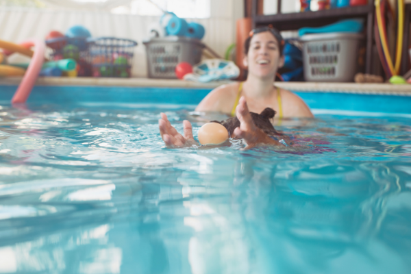 Once you teach your toddler how to swim, the risk of drowning significantly decreases and your worries can diminish.