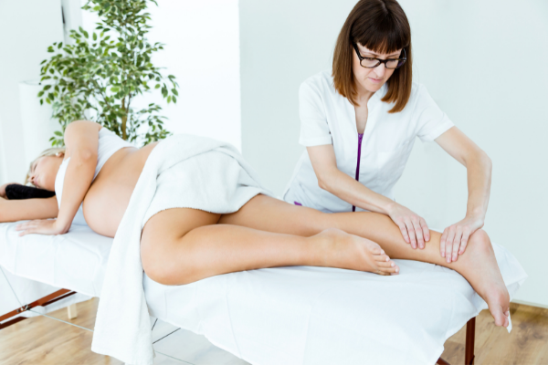 It's quite common for women to turn to prenatal massage during pregnancy to help relieve the added stress to the muscles, back, veins, and other physical aspects of their body, but how safe is it and can it actually induce labor?